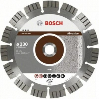 BOSCH Best for Abrasive 2608602684 - фотография 1