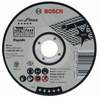 BOSCH Best for Inox 2608603492 - фотография 1