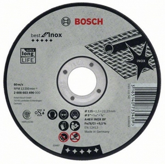BOSCH Best for Inox 2608603507 - фотография 1