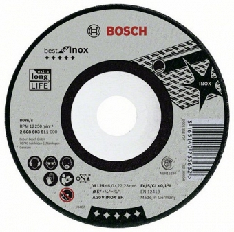BOSCH Best for Inox 2608603510 - фотография 1