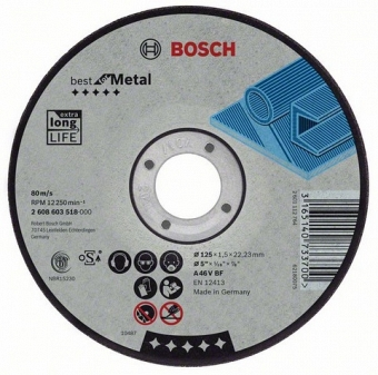 BOSCH Best for Metal 2608603525 - фотография 1