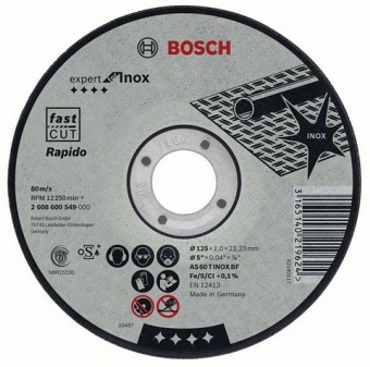 BOSCH Expert for Inox 2608603406 - фотография 1