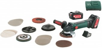 Metabo W 18 LTX 125 Inox Set 600174880 - фотография 1