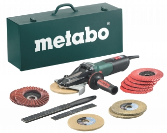 Metabo WEVF 10-125 Quick Inox SET 613080500 - фотография 1