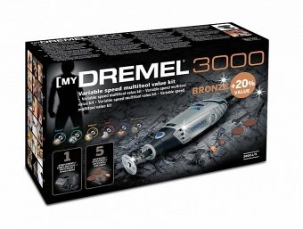 Dremel 3000 XMAS KIT BRONZE - фотография 3