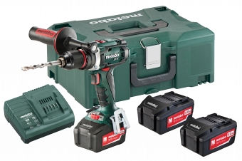 Metabo BS 18 LTX Impuls Set 602191960 - фотография 1