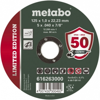 Metabo Limited Edition 616263000 - фотография 1