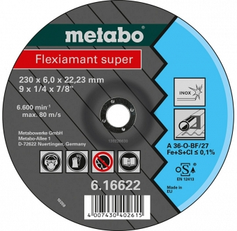 Metabo Flexiamant Super 616604000 - фотография 1