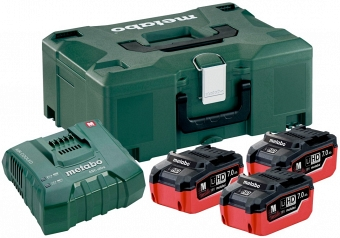 Metabo Basic-Set 3X 685110000 - фотография 1