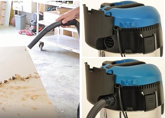 Пылесосы Makita можно использовать в качестве воздуходува